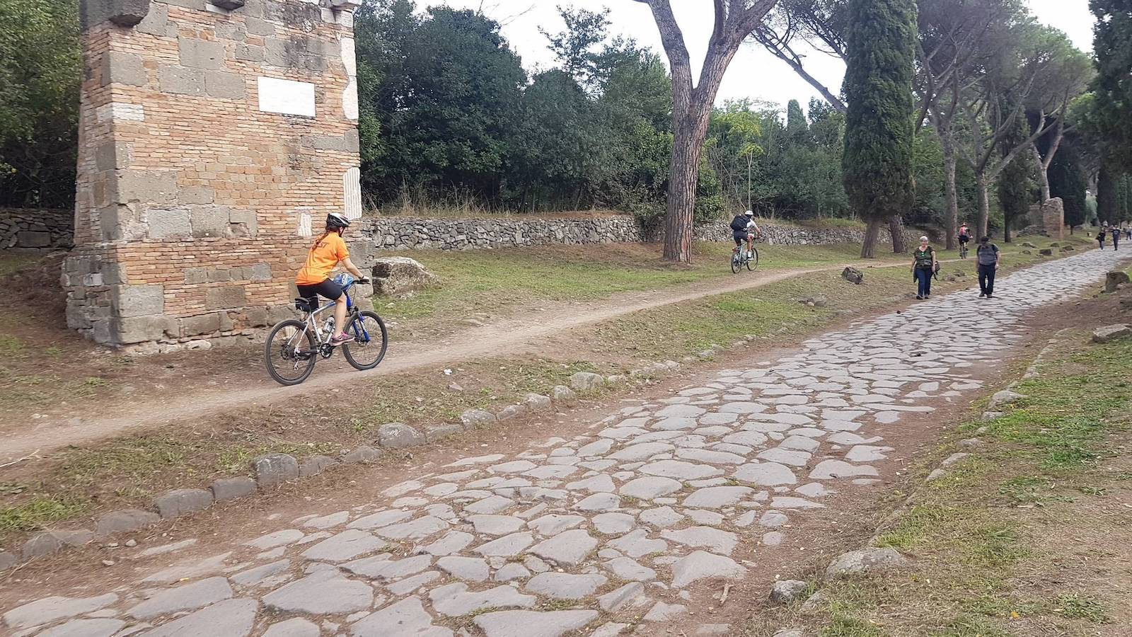 Roma ciclabile Tevere Appia13
