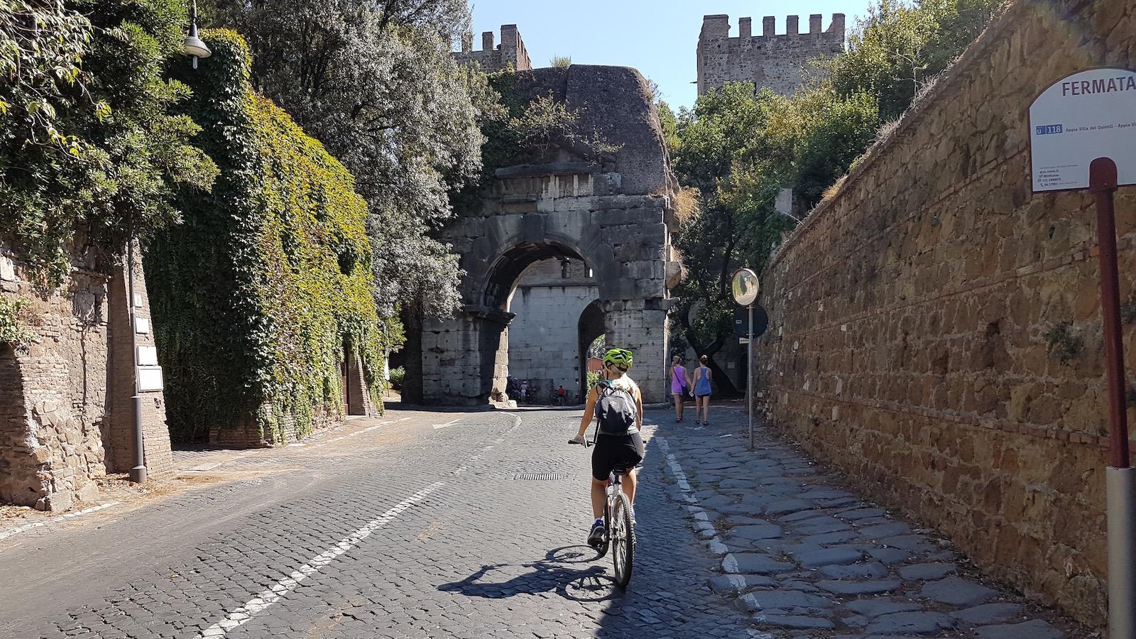 Roma ciclabile Tevere Appia15