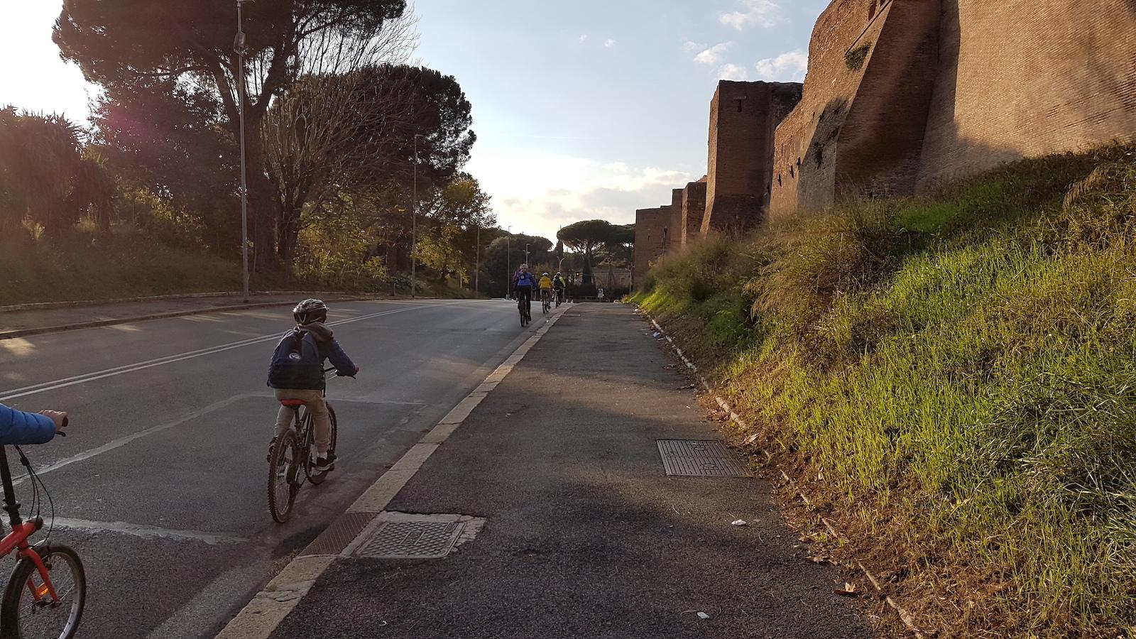 Roma ciclabile Tevere Appia29