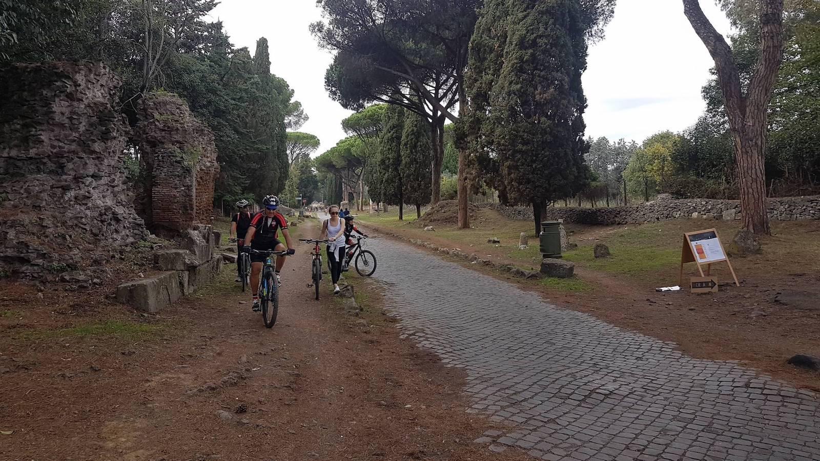 Roma ciclabile Tevere Appia3