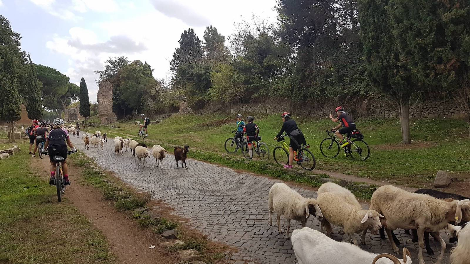 Roma ciclabile Tevere Appia8